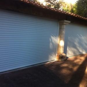 Portes de garages volets roulants